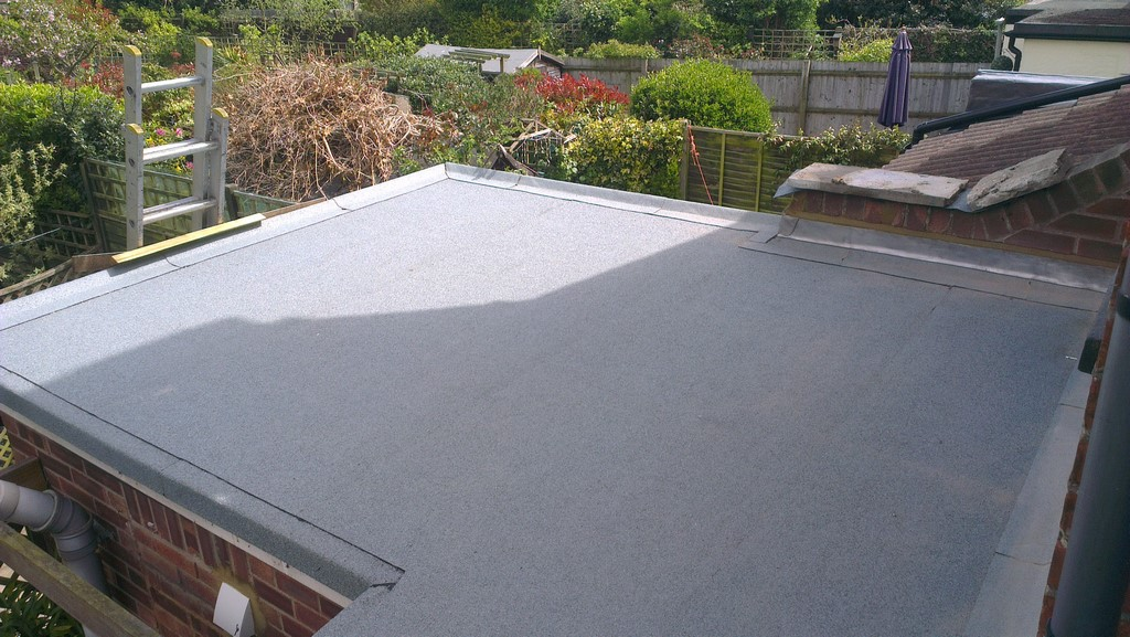 Felt Roof Repair Flat Roofs Which Are Made From Bitumen